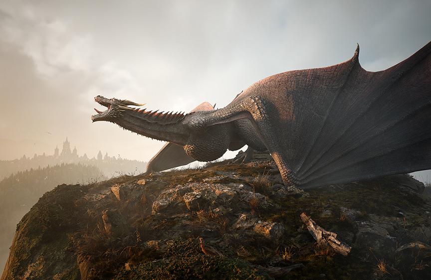 Unreal Engine – Dragon